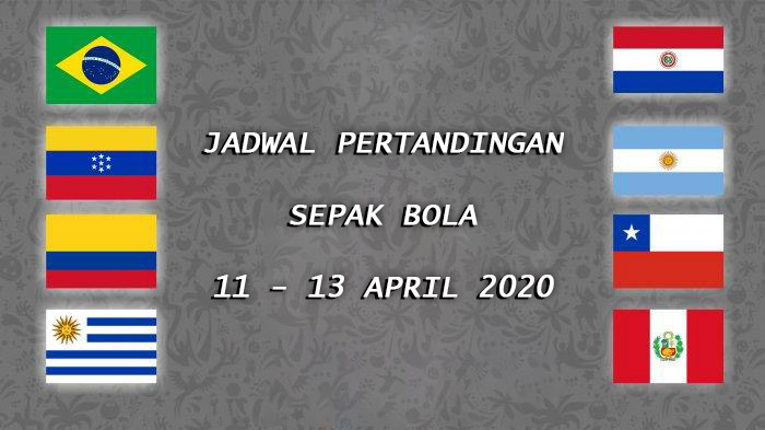 Jadwal Pertandingan Sepak Bola 11 – 13 April 2020